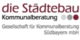 Logo die Stdtebau- Gesellschaft fr Kommunalberatung- Sdbayern GmbH