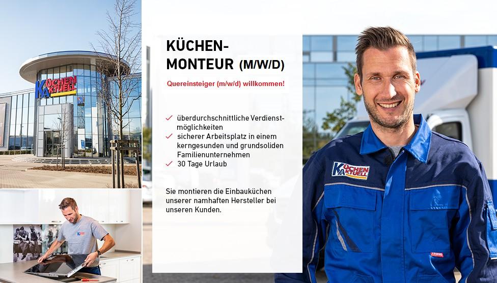 Kuchenmonteur M W D Quereinsteiger M W D Willkommen Job Bei