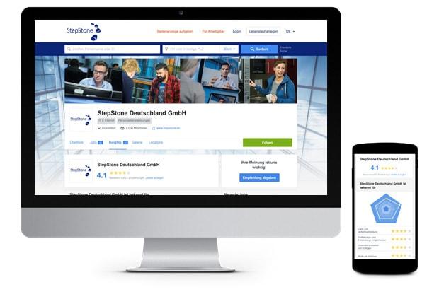 Company Hub Screen Musterfirma