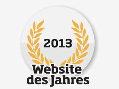 Logo: Website des Jahres